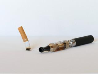 Electronic cigarette replacing tobacco cigarette