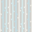Seamless pattern with lines and loops.