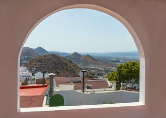 View from Mojacar Village, Almeria, Andalusia, Spain
