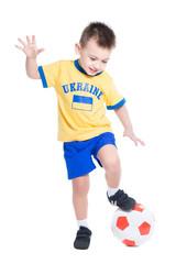 Nice little Ukrainian boy