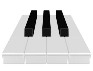 Klaviertasten, Musik