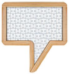 ardoise phylactère puzzle