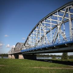 Road bridge in Grudziadz, Poland