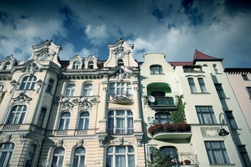 Poland - Bydgoszcz - cross processed color tone