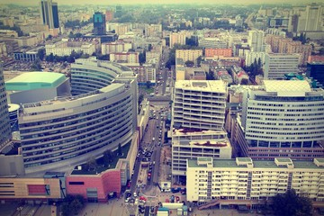 Warsaw - cross processed color tone