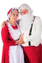 Portrait of Mr. and Mrs. Santa