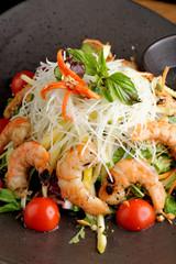 Shrimp and glass noodle salad