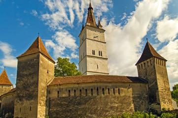 Fortified church in Transylvania, Romania