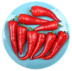 Red peppers.