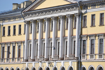 Facade of palace