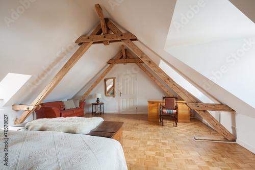 wohnen unter dem dach - 70570827