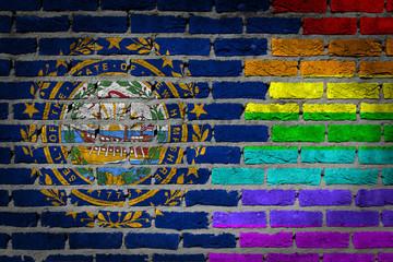Dark brick wall - LGBT rights - New Hampshire
