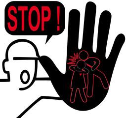 """concept """" dire stop aux violences conjugales """""""