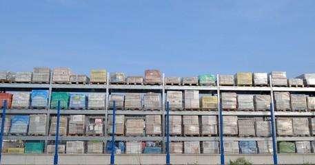 Stockage entrepôt