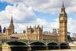 Leinwanddruck Bild - Westminster view