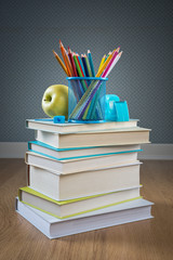 Back to school with colorful stationery