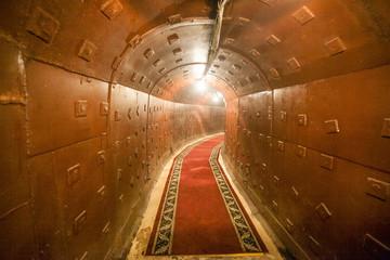 russian underground tunnel