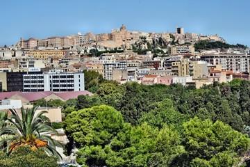 Vista di Cagliari dal Colle di Bonaria