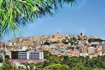 Panorama di Cagliari dal Colle di Bonaria