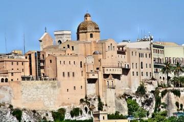 Quartiere Castello della città di Cagliari