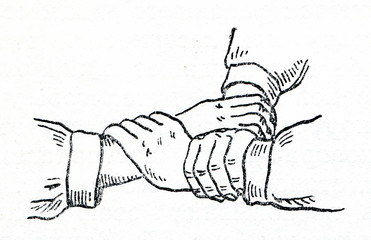 First aid -  three handed seat