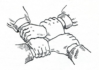 First aid - four handed seat