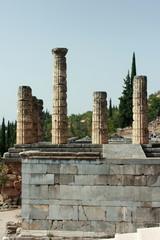 The Ancient Temple of Apollo at Delphi