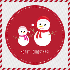 Merry Christmas greeting card3