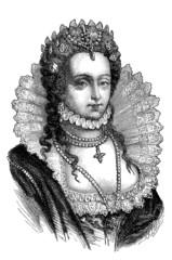 Queen Elizabeth the 1st - 16th century