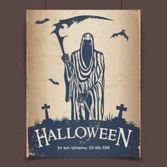 Halloween grim reaper