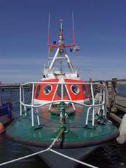 Polizeiboot auf Rügen
