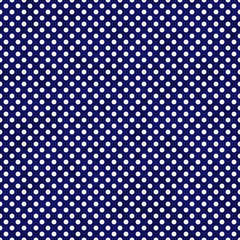 Navy Blue and White Small Polka Dots Pattern Repeat Background