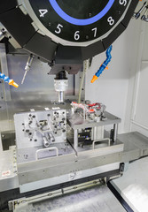 industrial metal machining cutting process of automotive parts b