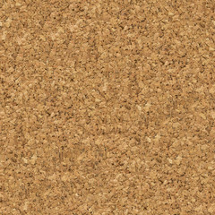 Brown Cork Surface. Seamless Texture.