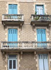 Antique facade-Biarritz