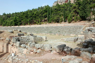 Stadium of Ancient Delphi