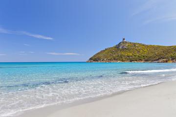 Sea of Sardinia.Villasimius.