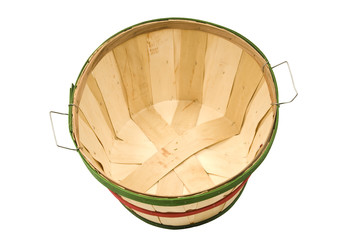 Empty Bushel Basket