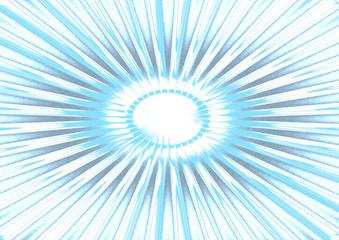 blaue Strahlen als Hintergrund
