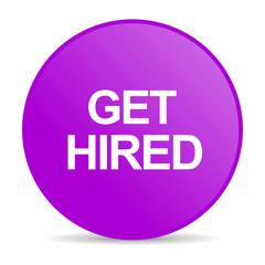 get hired web icon