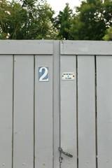 Blue door-France
