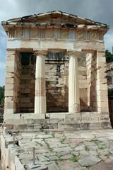 The Athenian Treasury of Ancient Delphi