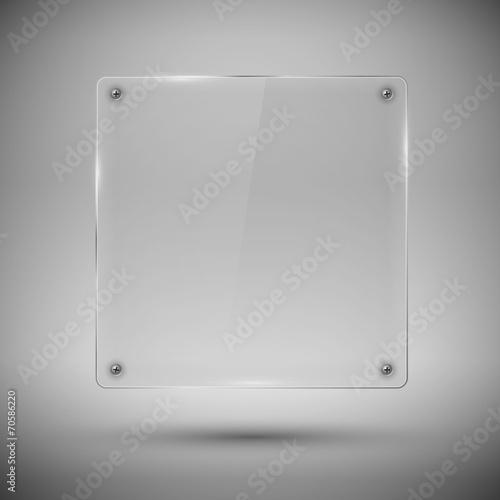 Glass framework. Vector illustration. - 70586220