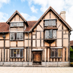 Birthplace of William Shakespeare facade