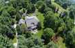 Countryside home aerial view - 70587644
