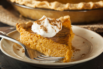 Homemade Pumpkin Pie for Thanksigiving