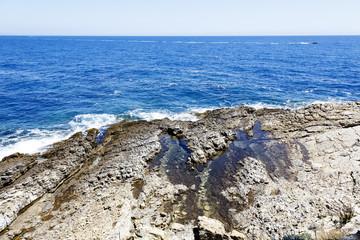 Rocks on the coast