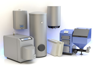 Heating system collection
