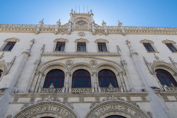 Rossio Railway Station in Lisbon, Portugal