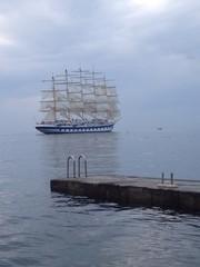 Fünfmaster Segelschiff